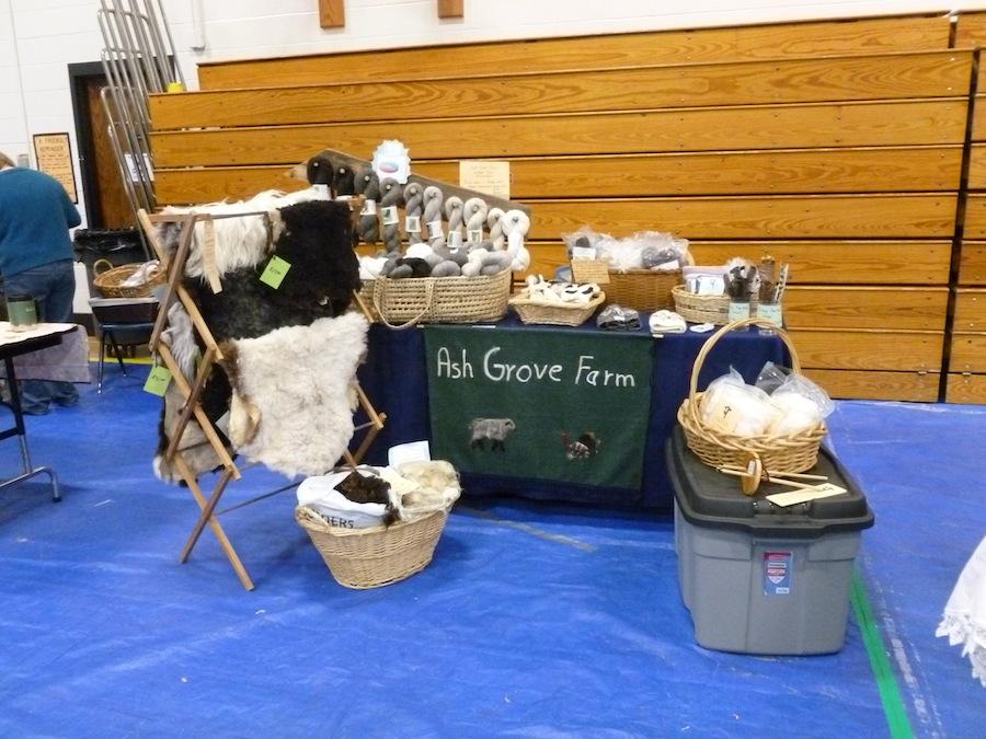A winter craft fair